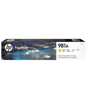 HP 981A INK CARTRIDGE PAGEWIDE GIALLO 6.000PAG