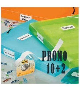 PROMO PACK 10+2 Post-it® COVER-UP 658-H 25MMX17,7M