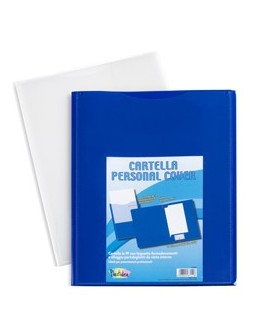 Conf 5 cartelle in pp personal cover blu 240x320mm Iternet