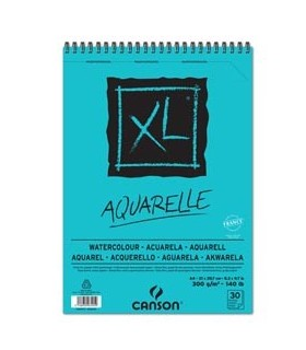 Album XL Aquarelle f.to A4 300gr 30fg Canson