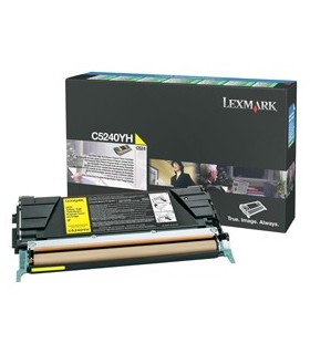 TONER RETURN PROGRAM GIALLO C524 ALTA RESA