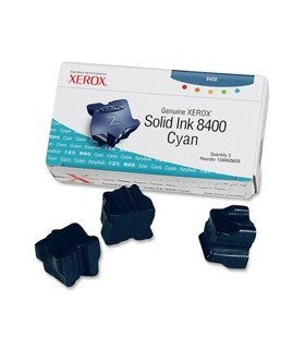3 STICK SOLID INK CIANO PHASER 8400