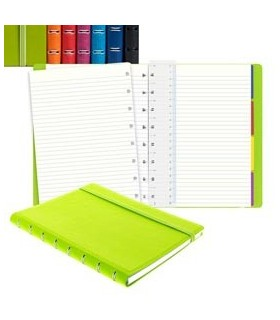 Notebook Pocket f.to 144x105mm a righe 56 pag. verde similpelle Filofax