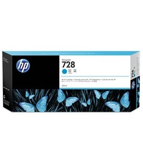HP728 300-ml CIANO INK CART